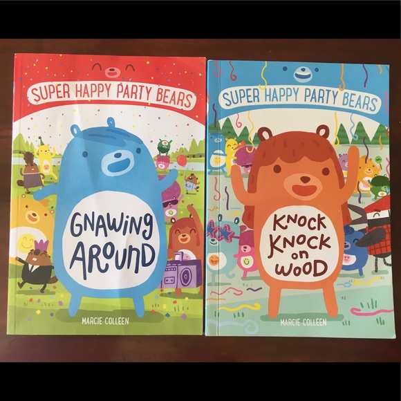Super Happy Party Bears Books 1 & 2
